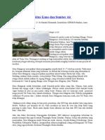Jalan Tol Rusak Situs Kuno Dan Sumber Air