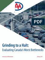 Grinding to a Halt, Evaluating Canada's Worst Bottlenecks