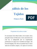 ANÁLISIS DE LOS TEJIDOS