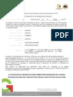 ReporteInforme Antecedentes No Penales 2017