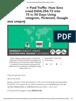 ECommerce Advertising _ Facebook, Google, Instagram, Pinterest