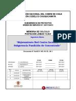 Nor0311-MC-00-EL-08!1!0 Memoria de Cálculo Postación Líneas 13.8kV