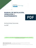 K00126 - Manual Rectificador RMT Rev A