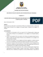 Informe Segundo Debate Ley Orgánica de Economía Popular y Solidaria