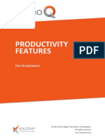 Productivity Features En