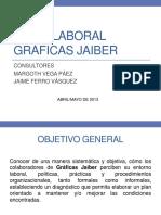 Clima Laboral Graficas Jaiber - Presentacion General