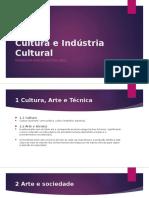 Cultura e Indústria Cultural