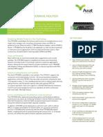 Aviat CTR 8300 Data Sheet - Dec 2014