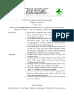 9.4.2.6 SK Petugas Yg Bertgjwb Pelaksanaan Kegiatan Yg Direncanakan Bab 9