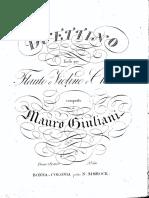 Giuliani, Mauro - Op.77 - Duettino facile per flauto o violino e chitarra.pdf.pdf