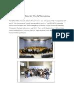 Report on IBRO-APRC Associate School of Neuroscience by Sutisa V3