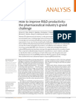 How to Improve R&D Productivity- The Pharmaceutical's Grand Challenge (Steven M. Paul, Daniel S. Mytelka, Christopher T. Dunwiddie, Charles C. Persinger,).pdf