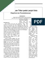 Gangguan Tidur Pd Lansia - CDK Kalbe