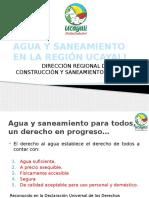 Agua y Saneamiento en La Región Ucayali