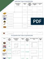 Formulaire Solides Et Figures Planes Usuels