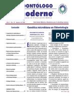 Genetica Microbiana en Odontologia