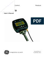 Hygropro Moisture Transmitter Operating Manual English