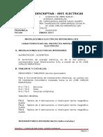 Informe de Estabilidad - Electricas