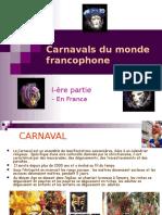 Carnavals France