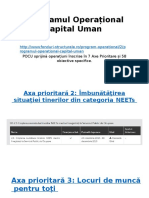 Programul Operațional Capital Uman