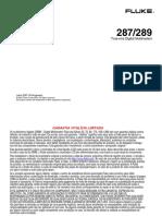 Manual Multimetro Fluke