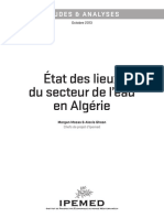 Etat Des Lieux Du Secteur de l'Eau en Algérie