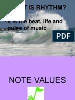 Rhythm Powerpoint