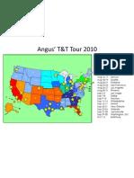 Angus' T&T Tour 2010