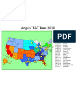 Angus' T&T Tour 2010