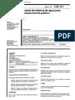 NBR 12215 - Projeto de adutora de agua para abastecimento publico (NB 591).pdf