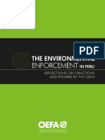 The Environmental Enforcement in Peru_OEFA