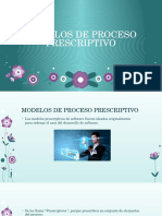 modelos prescriptivos