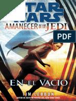 003 - Amanecer de Los Jedi - En El Vacio, Tim Lebbon