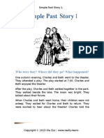 Simple Past Story 1 2