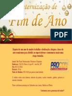 Convite - Confraternização Procon