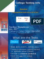 gcm college testing info night short b version 2016-17