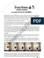 DCSS Training - Nessuno fa più le parallele