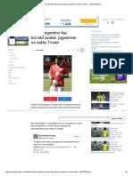 Clube Argentino Faz Torcida Avaliar Jogadores No Estilo Tinder