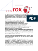 ANP 01 Caso Empresa Xerox