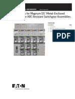 Eaton - LV Arc Resistant Switchgear