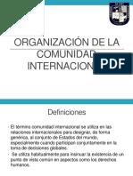 6.- Comunidad Internacional