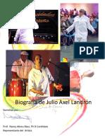 Biografía de Julio Axel Landrón