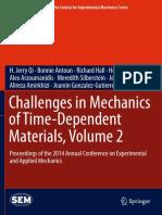 Desafios na mecânica de materiais dependentes do tempo
