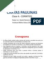 Cartas Paulinas - Corintios