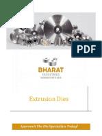 3.7 Extrusion Dies