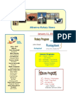 minerva rotary newsletter - january  11  2017