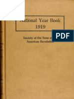 S.A.R. 1919 Yearbook-