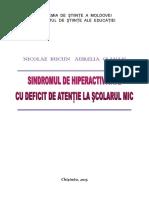 1460559194 7. Sindromul de Hiperactivitate Cu Deficit de Atenie La Scolarul Mic
