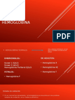 Tipos de Hemoglobina