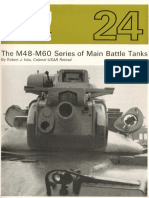 AFV Profile 024 - M48-M60 Series of Main Battle Tanks